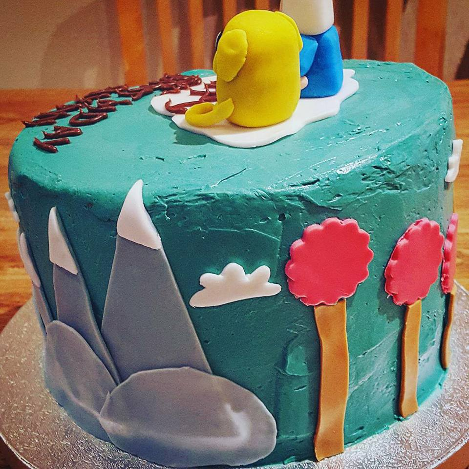 Adventure Time 2 Cake My Day
